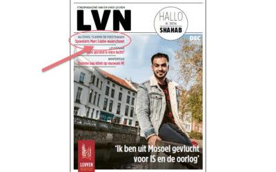 Lazarus in stadsmagazine LVN